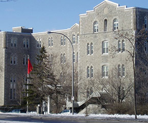 Chinese Embassy in Canada building