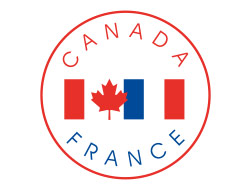 Association interparlementaire Canada-France Logo