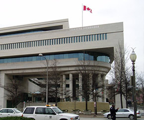 Embassy of Canada to the US building
