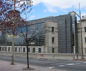 US Embassy in Canada building