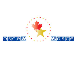 Canadian Delegation to the Organization for Security and Co-operation in Europe Parliamentary Assembly Logo