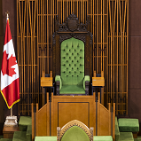 Speaker's Chair, Chamber of the House of Commons, West Block