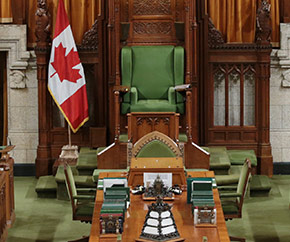House of Commons Speaker's Chair, House of Commons Chamber, Centre Block