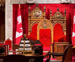 Senate Speaker's Chair, Senate Chamber, Centre Block